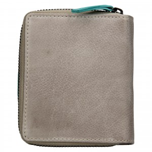Dámska kožená peňaženka Lagen Zoe - modrá