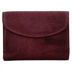 Dámská kožená peněženka Lagen Julie - vínová