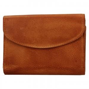 Dámská kožená peněženka Lagen Julie - koňak