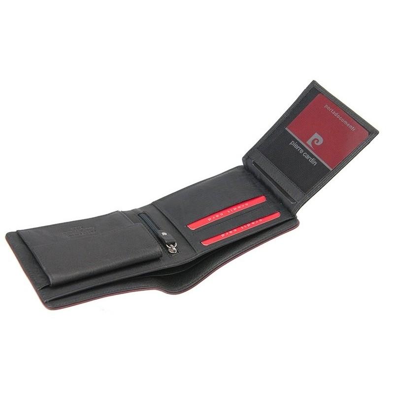 Pánská kožená peněženka Pierre Cardin Frack - hnědá