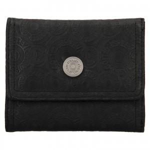 Dámská kožená peněženka Levi's Victoria - černá