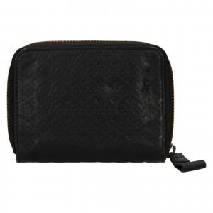 Dámská kožená peněženka Levi's Mia - černá