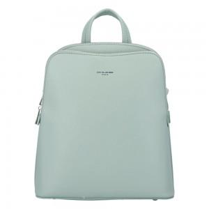 Módní dámský batoh David Jones Alison - zelená
