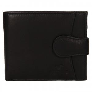 Pánská kožená peněženka Mustang Michael - černá