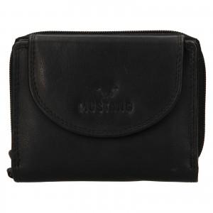 Dámská kožená peněženka Mustang Alice - černá
