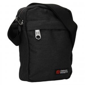 Pánská taška na doklady Enrico Benetti Larson - černá