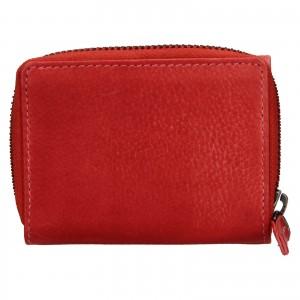 Dámská kožená peněženka Lagen Carmena - červená