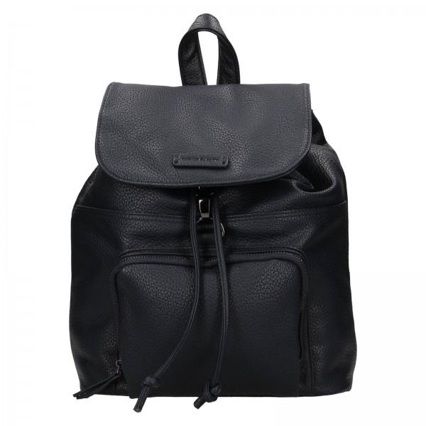 Moderní dámský batoh Enrico Benetti Europa - tmavě modrá