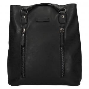 Elegantní dámská batůžko-kabelka Enrico Benetti Merta - černá