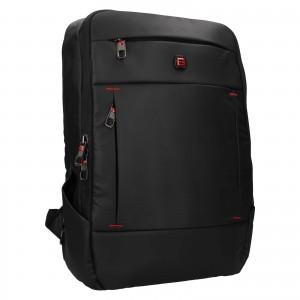 Pánský batoh Enrico Benetti Bolden - černá