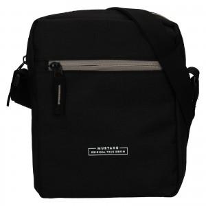 Pánská taška přes rameno Mustang Fabre - černá