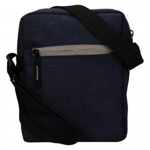 Pánská taška přes rameno Mustang Fabre - tmavě modrá