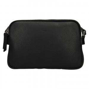 Kožená dámská crosbody kabelka Katana Francia - černá