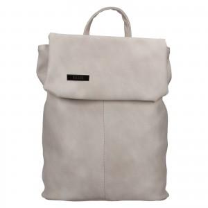 Dámský batoh Ellis Martha - světle šedá