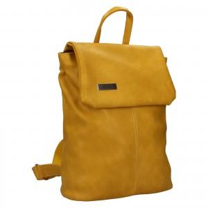 Dámský batoh Ellis Martha - žlutá