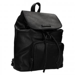 Moderní dámský batoh Enrico Benetti Europa - černá