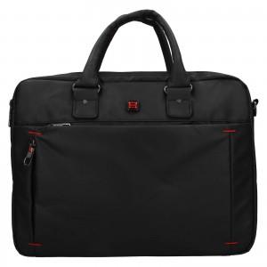 Pánská taška na notebook Enrico Benetti Porte - černá