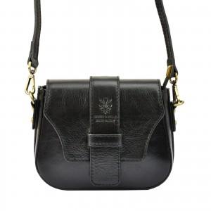 Dámská crosbody kabelka Vera Pelle Gyzell - černá