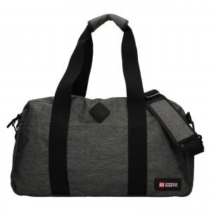 Cestovní taška Enrico Benetti James - šedá