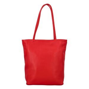 Dámská kožená kabelka Delami Guilia - červená