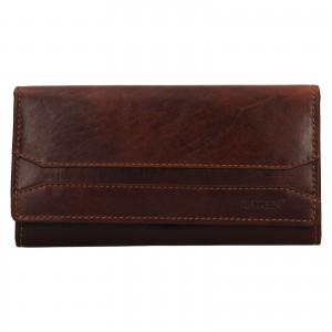 Dámská peněženka Lagen Marionna - hnědá