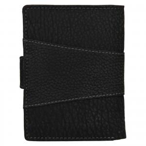 Pánská kožená peněženka Lagen Connor - černá