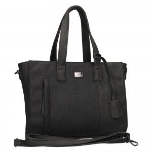 Trendy dámská kabelka Mustang Marie - černo-šedá