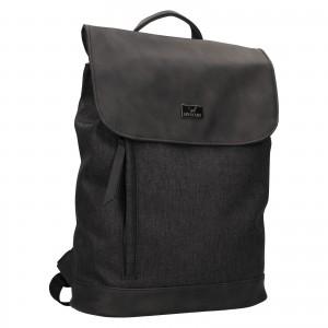 Trendy dámský batoh Mustang Fiona - černo-šedá