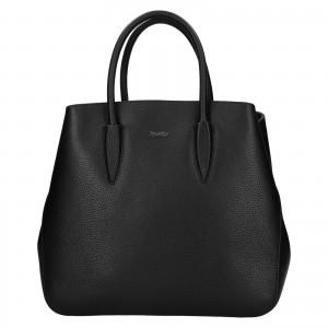 Dámská kožená kabelka Rovicky Veronika - černá