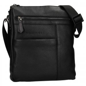Pánská taška přes rameno Bugatti Joe - černá