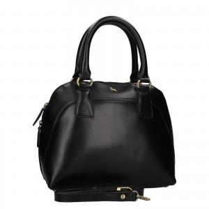 Dámská kožená kabelka Ashwood Miriame - černá