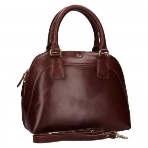 Dámská kožená kabelka Ashwood Miriame - hnědá
