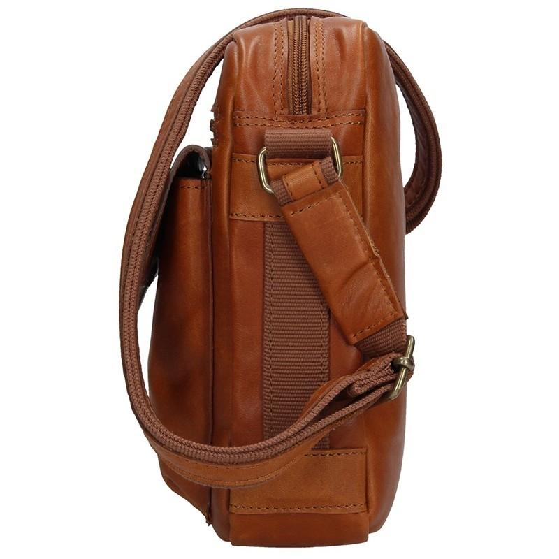 Pánská kožená taška Daag TAKE AWAY 5 - hnědá