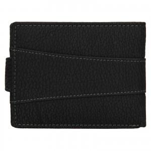 Pánská kožená peněženka Lagen Kevon - černá