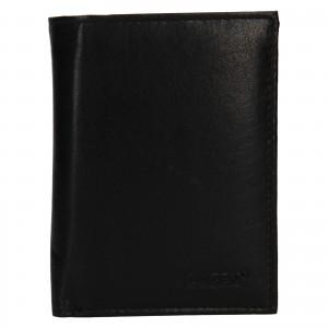 Pánská kožená peněženka Lagen Dion - černá