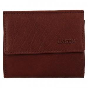 Pánská kožená peněženka Lagen Koudy - hnědá