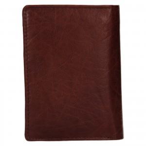Pánská kožená peněženka Lagen Josef - hnědá