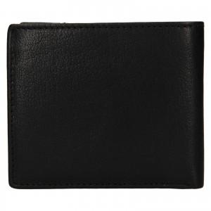 Pánská kožená peněženka Lagen Denton - černá