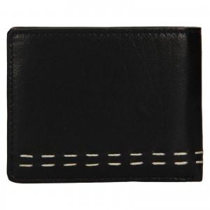 Pánská kožená peněženka Lagen Bassa - černá