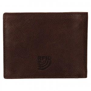 Pánská kožená peněženka Mustang Loyd - hnědá