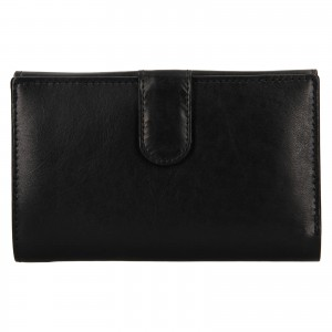 Dámská kožená peněženka Ashwood Zelda - černá