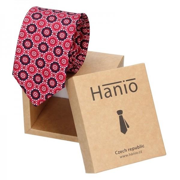Pánská kravata Hanio Marco - červená
