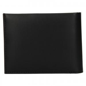 Pánská kožená peněženka Calvin Klein Leeb - černá