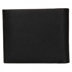 Pánská kožená peněženka Calvin Klein Seba - černá