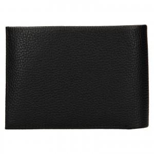 Pánská kožená peněženka Calvin Klein Delne - černá
