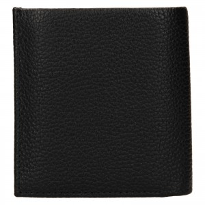 Pánská kožená peněženka Calvin Klein Mano - černá