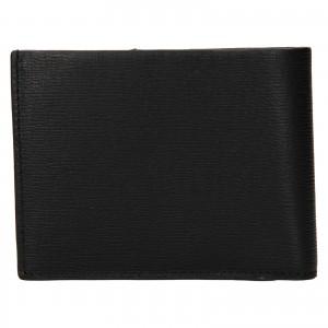 Pánská kožená peněženka Calvin Klein Nevo - černá