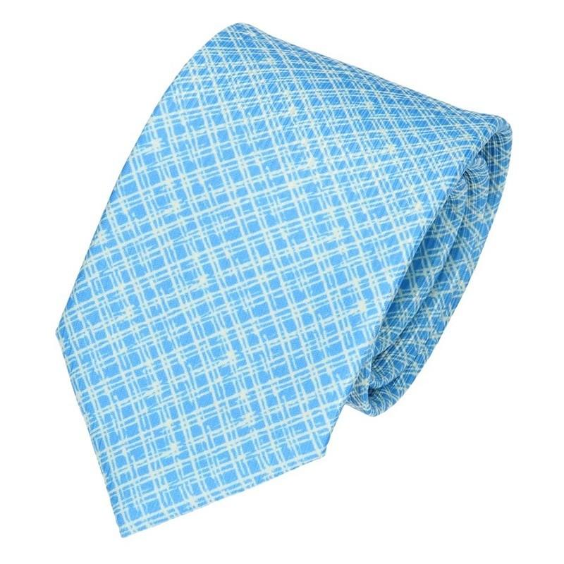 Pánská kravata Hanio Vincent - modrá