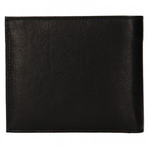Pánská kožená peněženka SendiDesign Bredly - černá