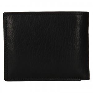 Pánská kožená peněženka SendiDesign Lopezz - černá